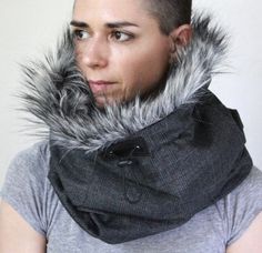 Super warm and cosy winter scarf! Designed for the coldest of winters  Suitable for both men or women  With the two layer system and the use of high