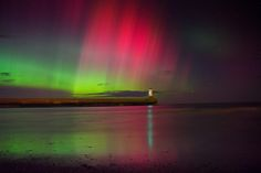 (2) Beautiful photos of Northern Lights or Aurora Borealis