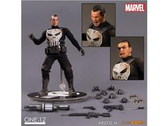 One:12 Collective Marvel - Punisher - Marvel Action Figures & Toys One:12 Collective Scale