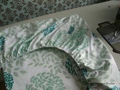 Como fazer lençol com elástico