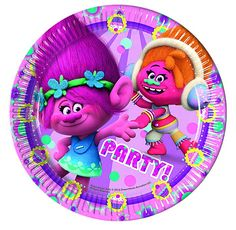 Party food is certainly where I find my happy place! Give your little Trolls a proper party feast with these colourful Trolls party plates. The Trolls plates come in a pack of 8 and measure in diameter. Party Cups, Party Plates, Party Tableware, Dinner Plates, Baby Shower Party Supplies, Baby Shower Parties, Trolls Party, Los Trolls, E Bay