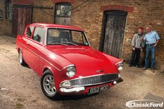 Ford Motor Company, Ford Anglia, Ford Vehicles, Ford Classic Cars, Beautiful Lines, Automotive Art, Car Ford, Old Cars, Cars And Motorcycles