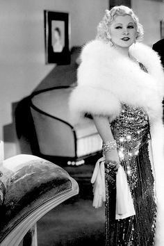 """I'll try anything once, twice if I like it, three times to make sure."" Mae West in I'm No Angel (1933)"
