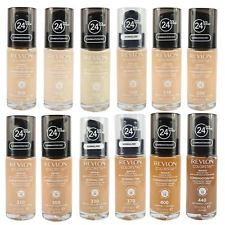 Revlon ColorStay Foundation 24 hours Wear For Normal / Dry Skin or Combination / Oily Skin. Revlon ColorStay foundation is buildable to full coverage. Revlon ColorStay foundation is available in. Revlon Colorstay Foundation, Matte Makeup, Full Coverage Foundation, Normal Skin, Combination Skin, Sun Protection, Oily Skin, Eyeshadow, How To Apply