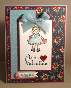 SC418 Greeting Card Kids Valentine