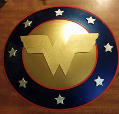 Hey, I found this really awesome Etsy listing at https://www.etsy.com/listing/233694874/wonder-woman-shield