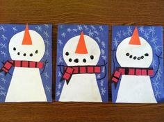 A Cupcake for the Teacher: snowman