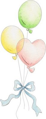BALLOONS CLIP ART applique idea