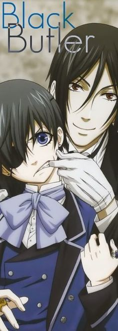 a young boy loses everything he once held dear to a vicious plot.In his moment of death,he strikes a deal with a demon: his soul, in exchange for revenge.Ciel is now the head of the Phantomhive corporation,handling all business affairs as well as the underground work for the Queen of England.His new partner is a demon butler,Sebastian,whose powers as a butler is only surpassed by his strength as a demon.