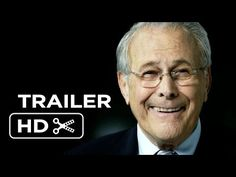 ▶ The Unknown Known Official Trailer #1 (2014) - Donald Rumsfeld Documentary HD - YouTube