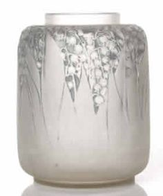René Lalique Lily of the Valley vessel