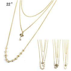 MyWholesaleFashion.com - Fashion Necklace ACN7166 Assorted Color (Unit Price: $0.70) 1 Dozen, $8.40 (http://www.mywholesalefashion.com/fashion-necklace-acn7166-assorted-color-unit-price-0-70-1-dozen/)