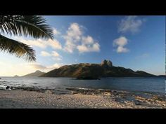 (Nature Relaxation w/Music) Fiji Islands Paradise Tropical Healing Relax...