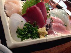 魚と日本酒のお店。
