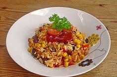 Mexikanischer Reis, ein schmackhaftes Rezept aus der Kategorie Reis/Getreide…