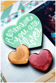 Create your own epoxy embellishments  with the #epiphanycrafts Shape Studio Tool Heart 25. www.epiphanycrafts.com #americancrafts #dearlizzy #scrapbook