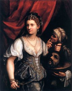 Judith with the Head of Holofernes, Fede Galizia, 1596