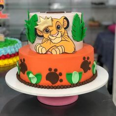 Lion King Theme, Lion King Party, Lion King Birthday, Lion Cakes, Lion King Cakes, Baby Shower Parties, Baby Shower Themes, Lion King Baby Shower, Baby F