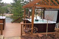 Hot Tub Pergola Decks 4