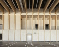 Sportanlage Source by Gymnasium Architecture, Stadium Architecture, Wooden Architecture, Museum Architecture, Industrial Architecture, Architecture Board, Japanese Architecture, Architecture Office, Ancient Architecture