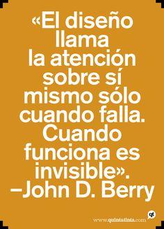 La frase del lunes, por John D. Berry