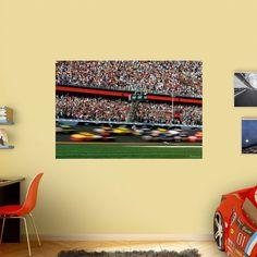 Fathead Daytona International Speedway Blur Wall Mural - 17-00073