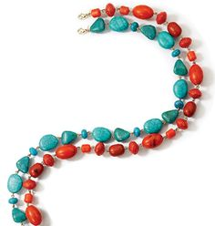 Avon: Fiji Bliss Long Beaded Necklace http://tishia.avonrepresentative.com/