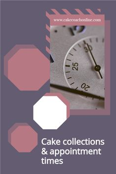 What do you do as a baker/cake decorator about cake collection times? Have you ever had a late pick up. Do your customers respect your time? Read our blog to find out more. Why not save this to your own Cake Ideas board too?