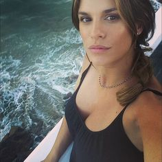#ElisabettaCanalis Elisabetta Canalis: Buona notte dall'Oceano Pacifico Have a great night from the Pacific Coast