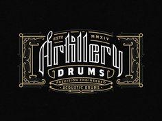 Artillery Frame- logo  by Joe White