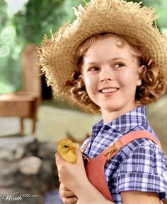 """Another sister favorrite, there wasn't a Shirley Temple movie we could miss. """"Rebecca of Sunnybrook Farm."""""""
