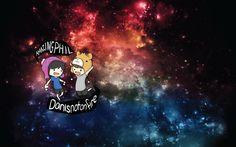 Phan galaxy- Dan (Danny) and Phil (Phily, Philgon)