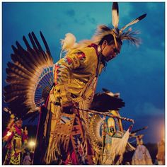 Love this! Ogala nation powwow