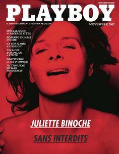 REVISTARAMA: Juliette Binoche @ Playboy Francia