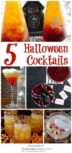 5 Halloween Cocktail