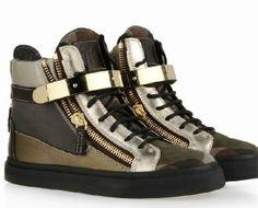 Giuseppe Zanotti Sneakers High Top en Camouflage Homme pas cher