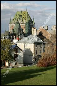 areal photography chateau frontenac - Google Search