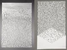Argentinean artist Pablo Lehmann -paper type.