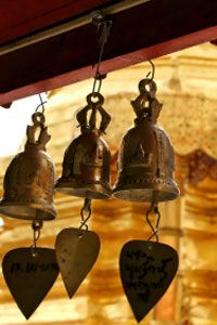"We speak of a bell as a ""sounding body,"" yet we know that all the bell can do is…"
