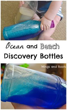 Ocean and Beach Discovery Bottles
