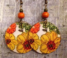 A personal favorite from my Etsy shop https://www.etsy.com/listing/453244870/up-cycled-vintage-70s-look-floral