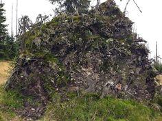 Wurzelteller der Fichte Rocks, Hiking