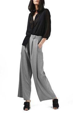 5ecd3b0401c Main Image - Topshop Wide Leg Trousers Wide Leg Trousers
