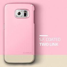 2f2fdf8bbbd Galaxy S6 Edge Case, Verus [2Link][Sugar Pink] - [Non  Slip][Minimalistic][Slim Fit] - For Samsung Galaxy S6 Edge SM-G925 Devices