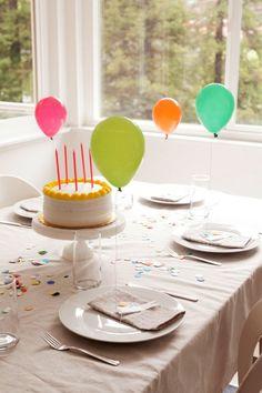 #TuFiestaTip -El hecho de partir solo el pastel en un cumple no tiene que ser aburrido sólo usa la imaginación!