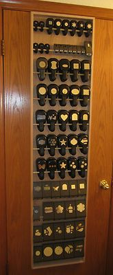 11PD Paper Punch Storage Organizer Rack for Stampin Up Martha Stewart Punch   eBay