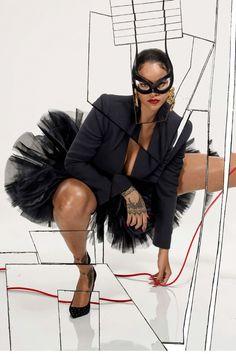 Rihanna for Vogue Paris. (December 2017 issue)