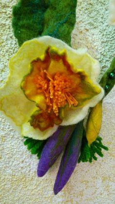 Felting flower