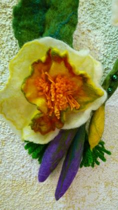 Felting flower