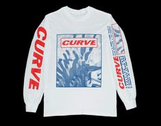 Image of Curve Streetwear Mode, Streetwear Fashion, Printed Shirts, Tee Shirts, Graphic Tees, Graphic Sweatshirt, Mein Style, Tee Shirt Designs, Hoodie